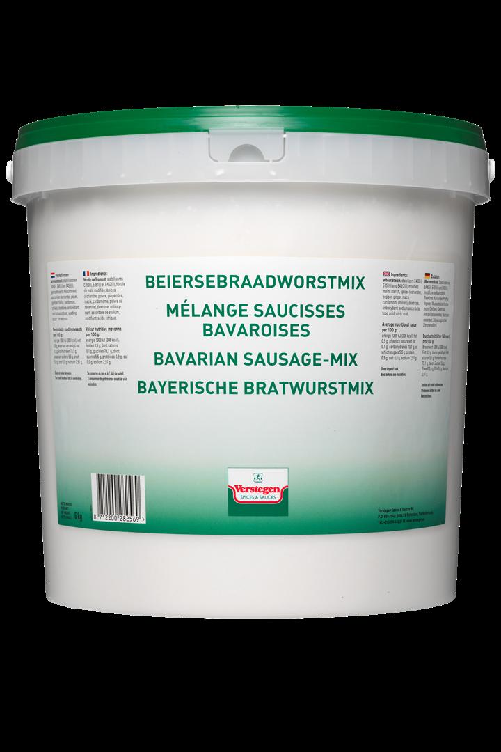 Productafbeelding Verstegen  Beiersebraadworst mix  6000 g emmer