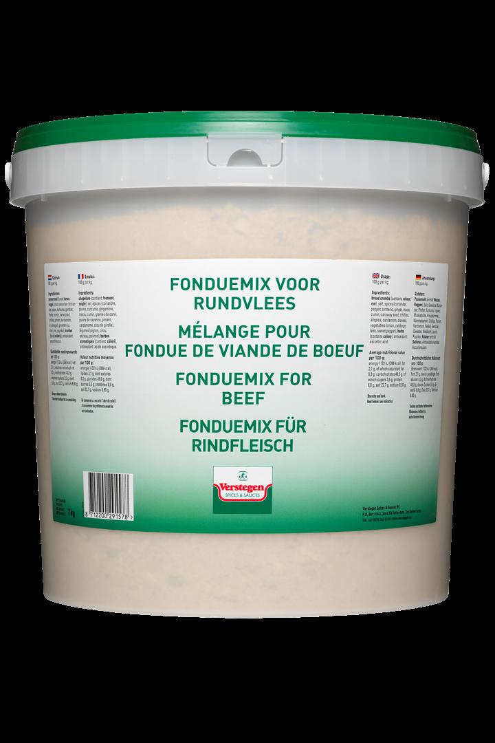 Productafbeelding Verstegen  fonduemix voor rundvlees 7000 g emmer