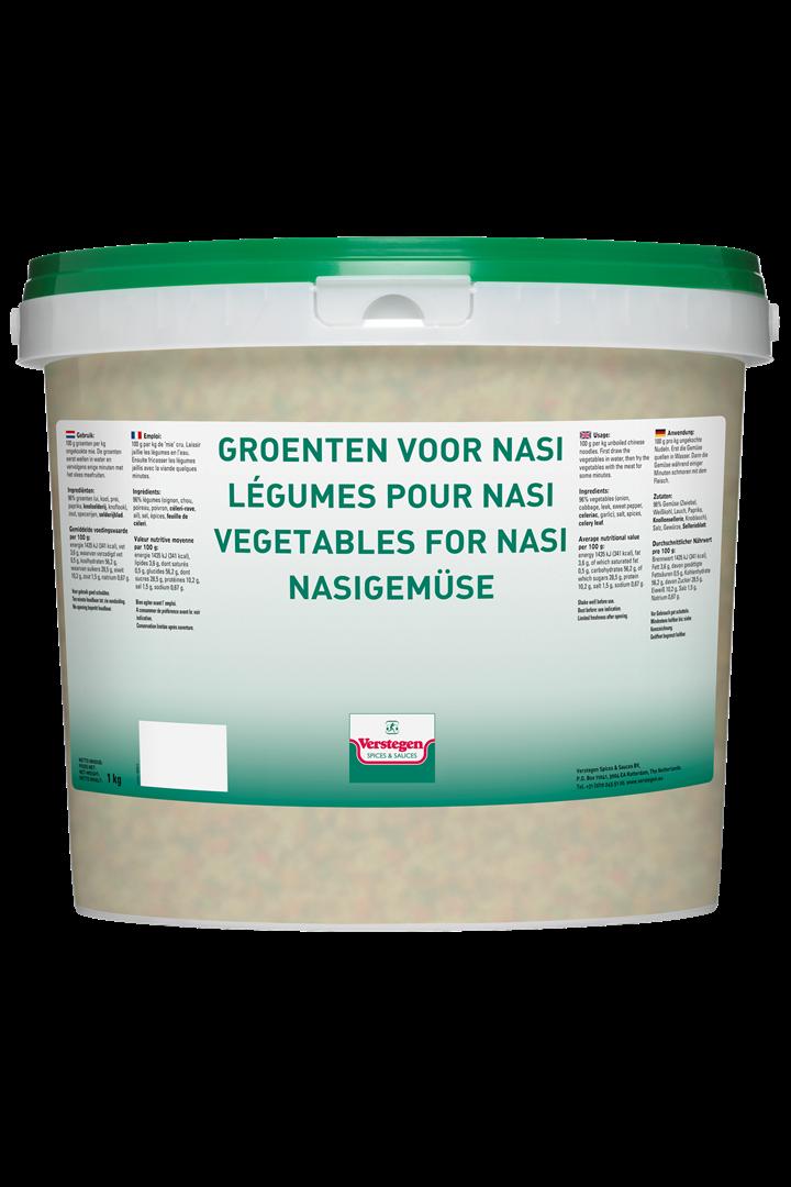 Productafbeelding Verstegen  groenten voor nasi  1000 g emmer