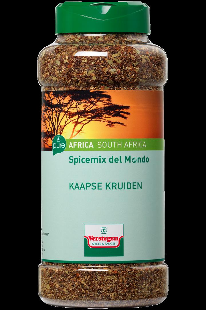 Productafbeelding Verstegen Pure Spicemix del mondo  Kaapse kruiden 550 g pot