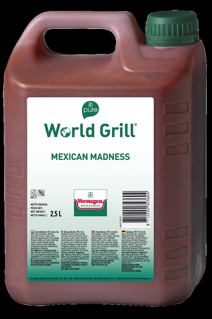 Productafbeelding Verstegen  World Grill Mexican madness 2,5 LT kan