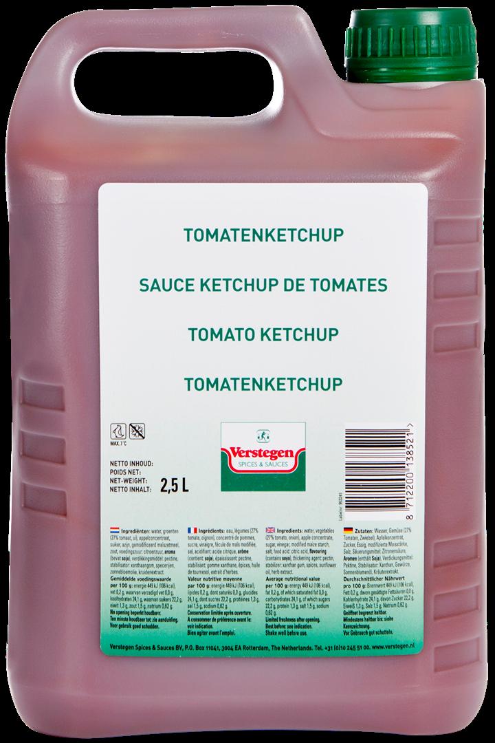Productafbeelding Verstegen Tomatenketchup 2,5 L kan