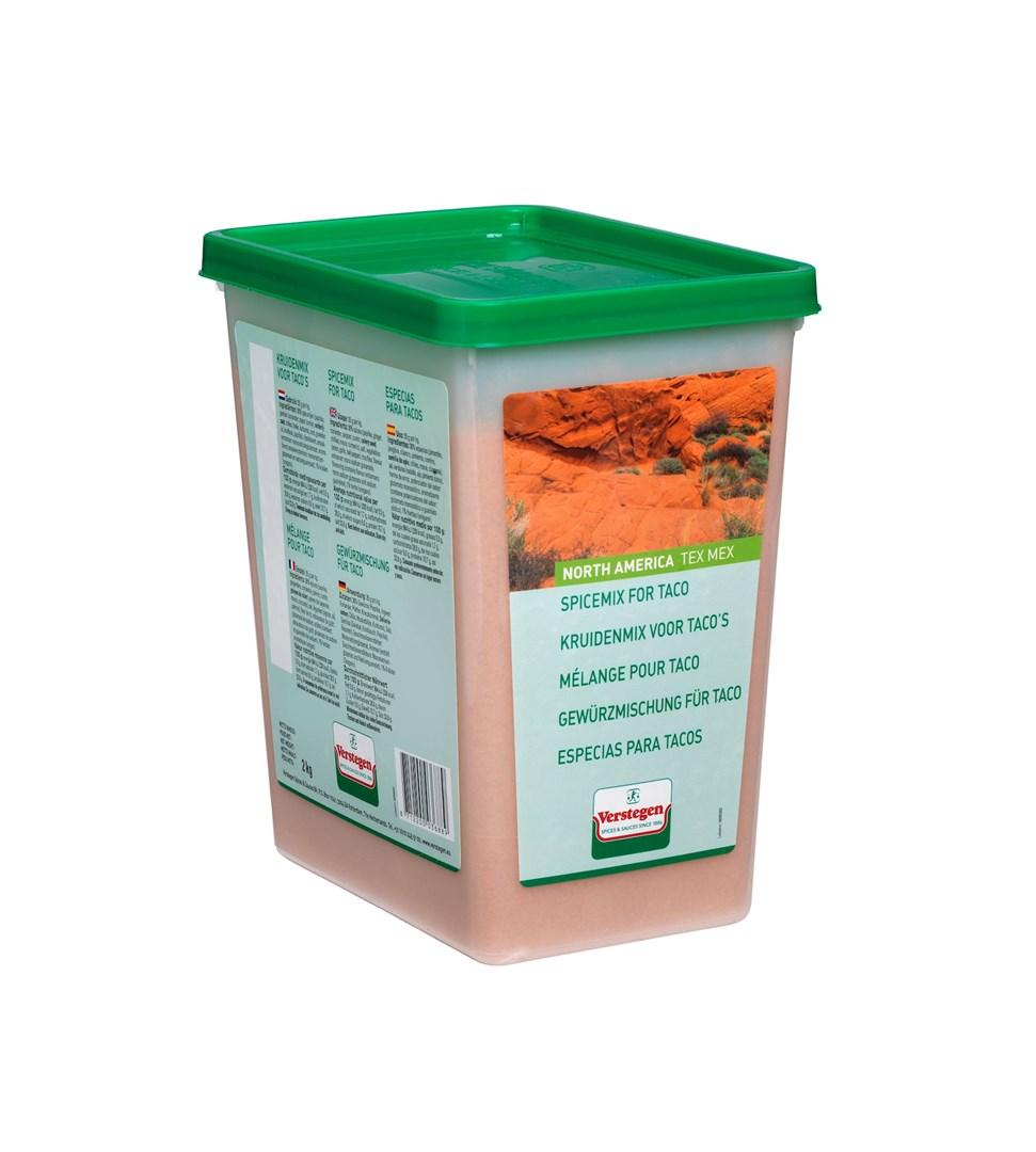 Productafbeelding Verstegen  kruidenmix voor taco's 2000 g kuipje