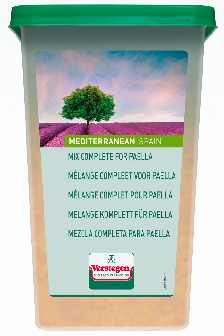 Productafbeelding Verstegen  mélange compleet voor paella 1000 g kuipje