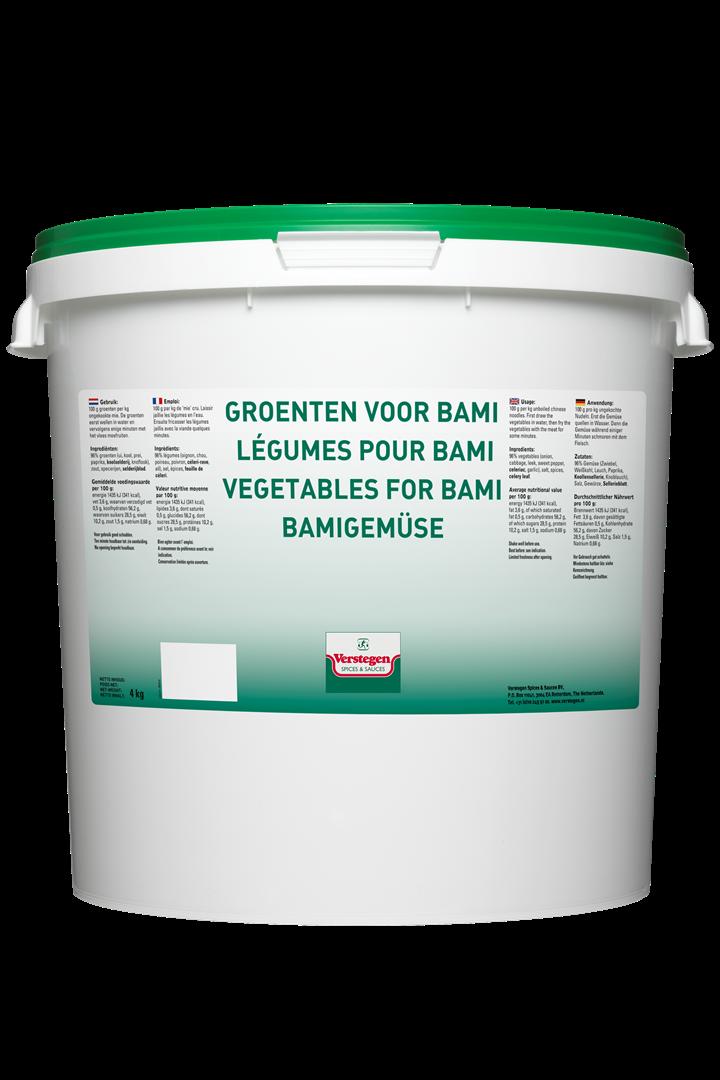 Productafbeelding Verstegen  groenten voor bami  4000 g emmer