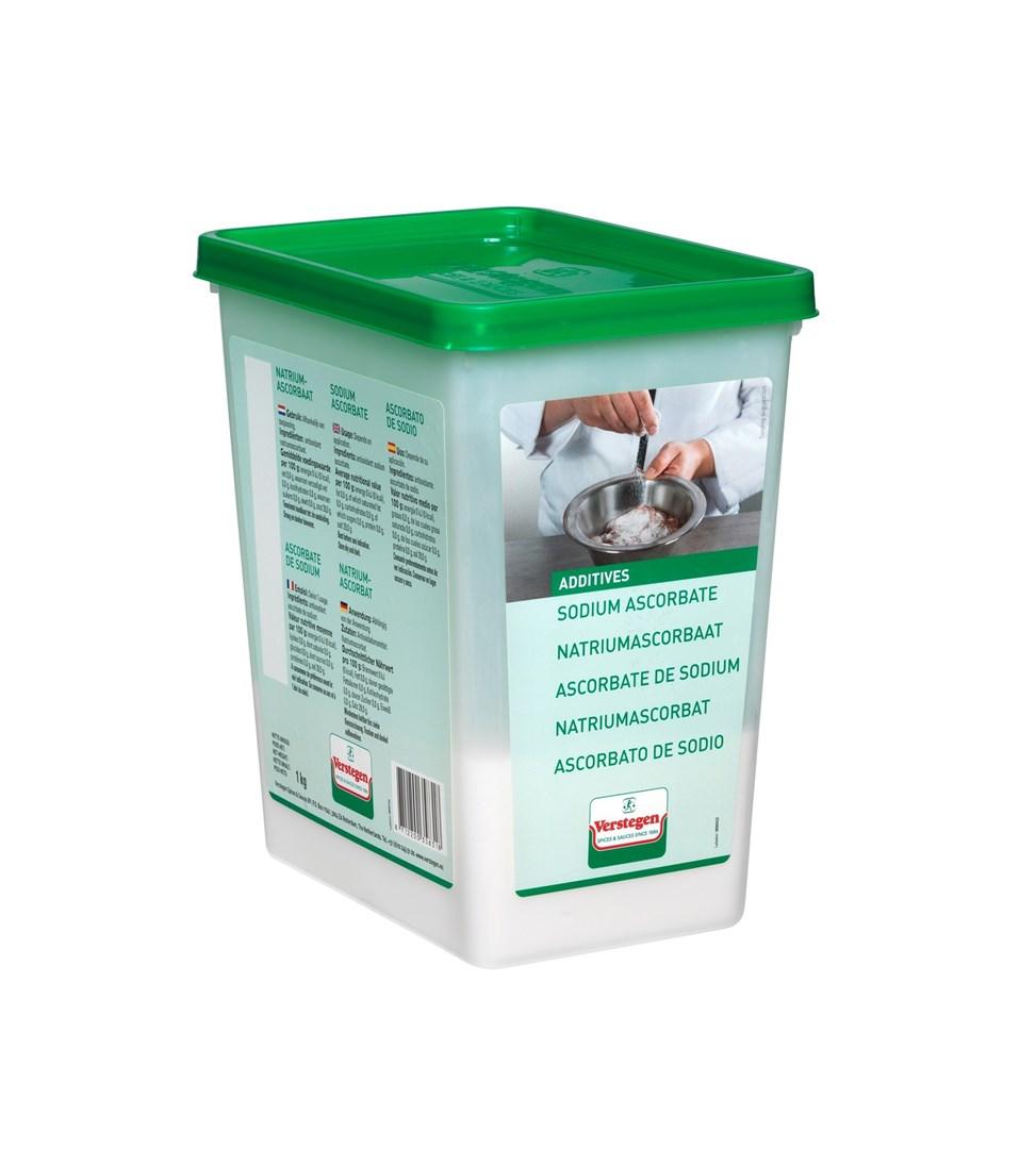 Productafbeelding Verstegen natrium ascorbaat 1000 g kuipje