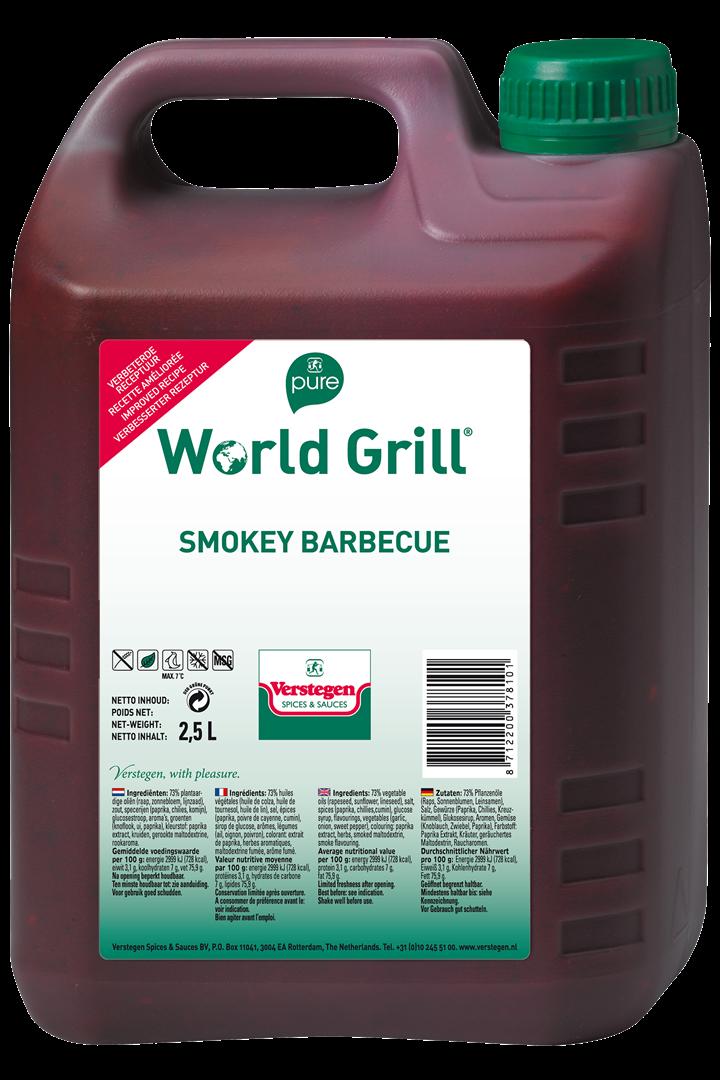 Productafbeelding Verstegen  World Grill Smokey BBQ 2,5 LT kan