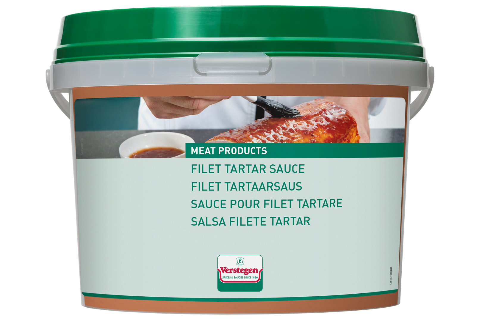 Productafbeelding Verstegen  saus filet tartaar 2500 ML emmer