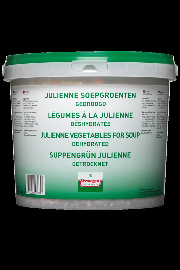Productafbeelding Verstegen  Juliennesoepgroenten gedroogd 1000 g emmer