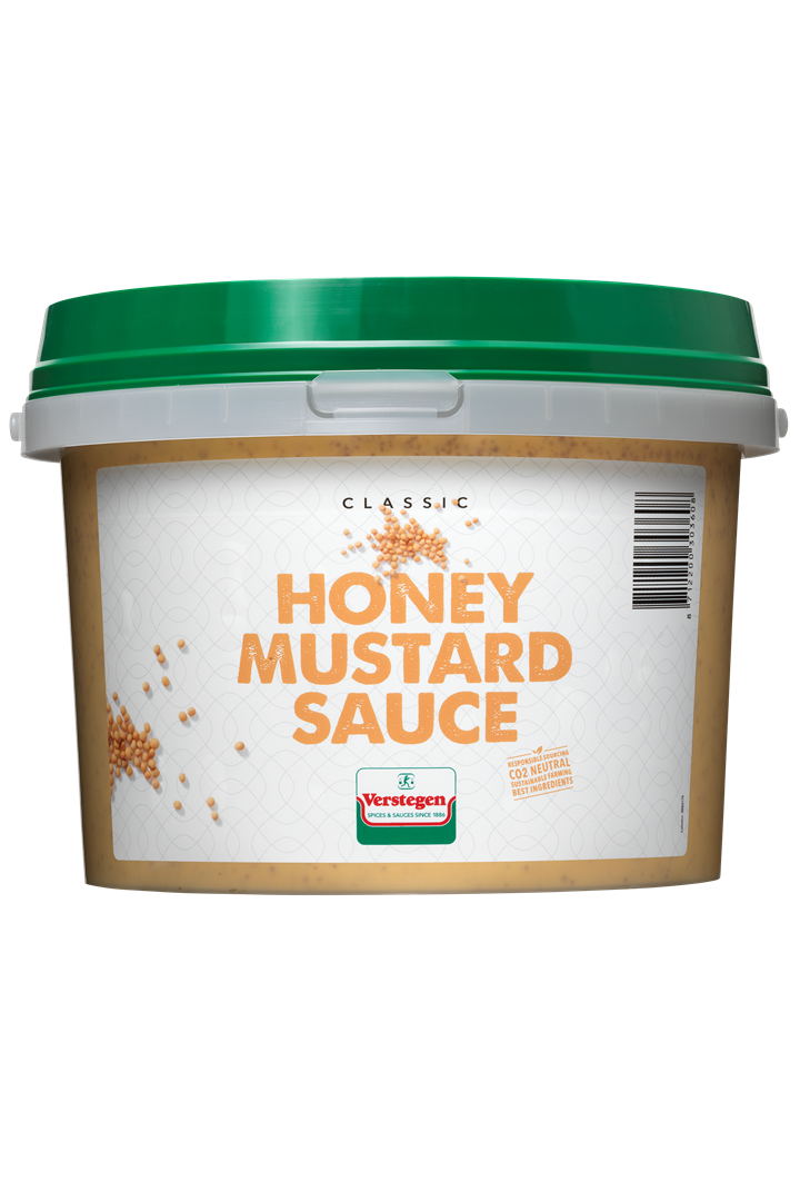 Productafbeelding Verstegen  Honing mosterdsaus  2700 ml emmer