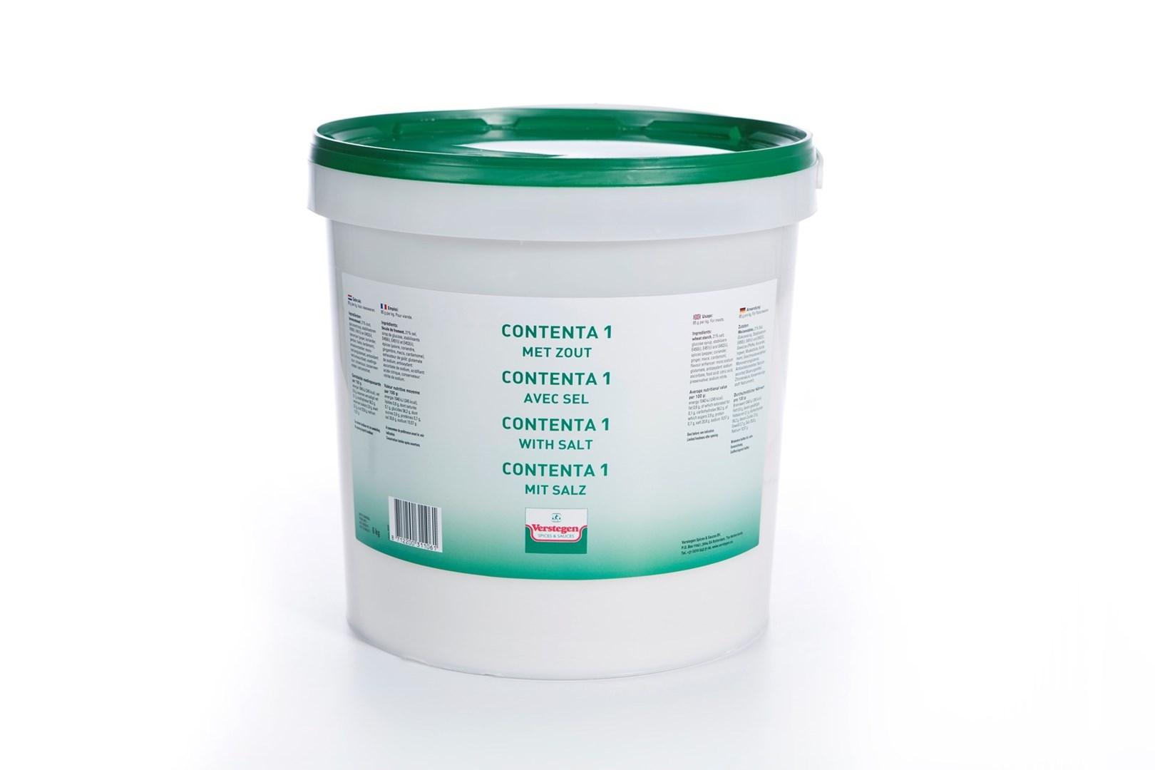 Productafbeelding Verstegen  Contenta 1 met zout  6000 g emmer