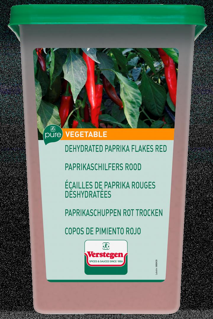 Productafbeelding Verstegen  paprikaschilfers rood 1000 g kuipje