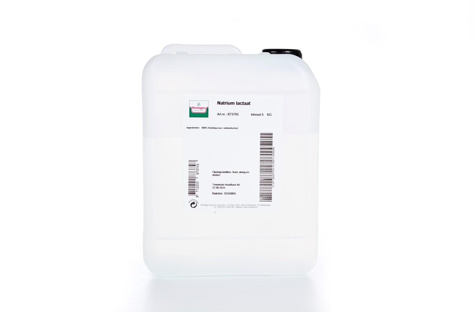 Productafbeelding Verstegen  natrium lactaat  5000 g kan