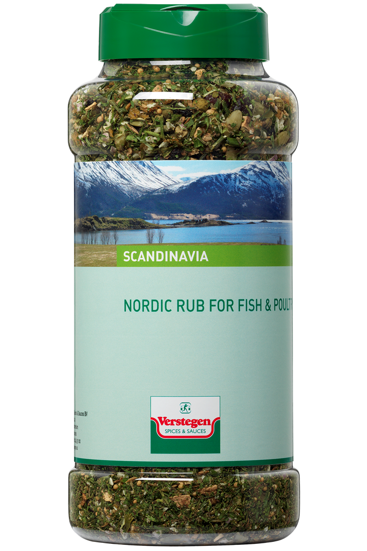 Productafbeelding Verstegen Nordic rub for Fish & Poultry 450 g pot