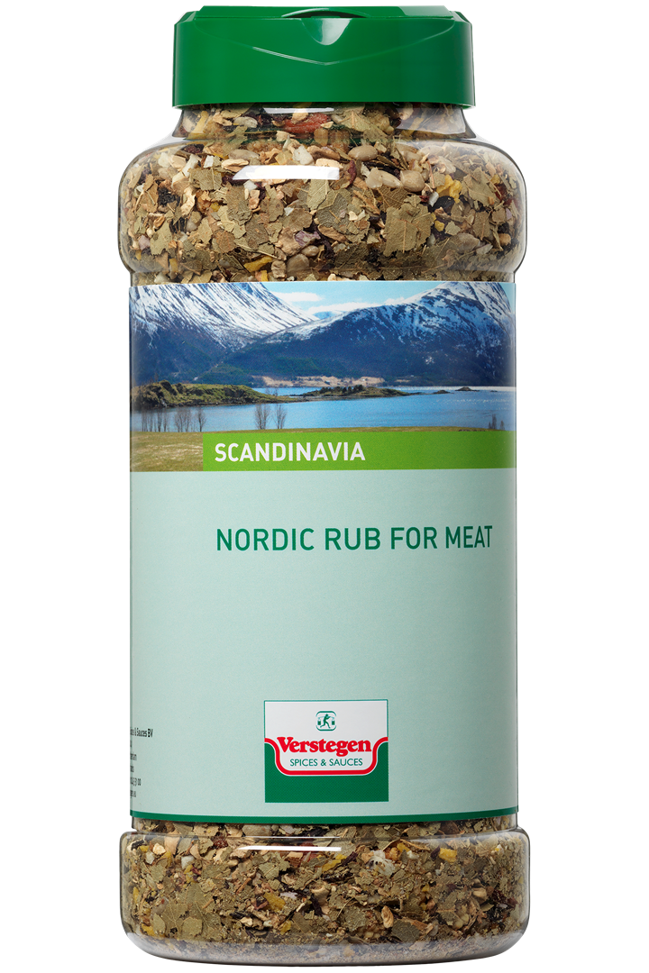 Productafbeelding Verstegen Nordic Nordic rub for Meat 400 g pot
