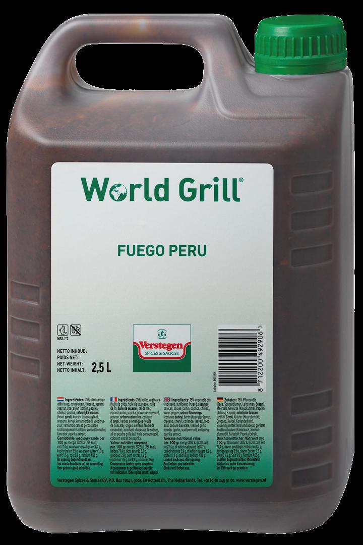 Productafbeelding Verstegen  World Grill Fuego Peru 2,5 LT kan