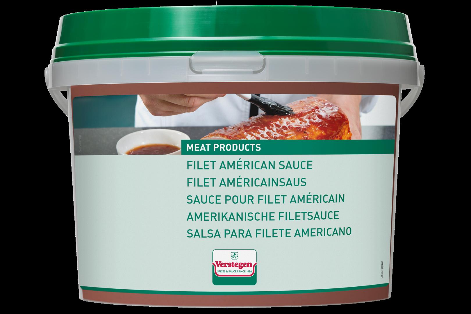 Productafbeelding Verstegen  saus filet américain 2500 g emmer