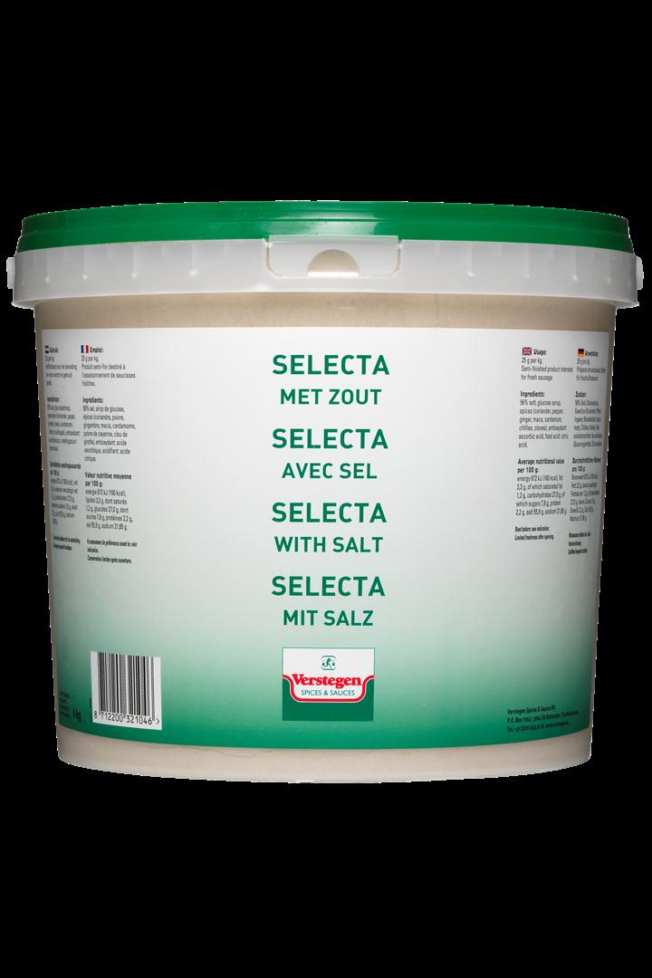 Productafbeelding Verstegen  Selecta met zout 4000 g emmer