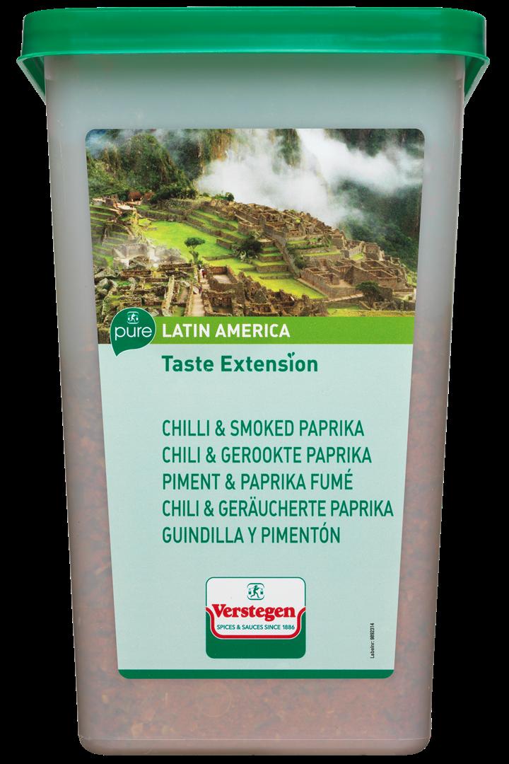Productafbeelding Verstegen Taste extension chili & gerookte paprika 750gr cup