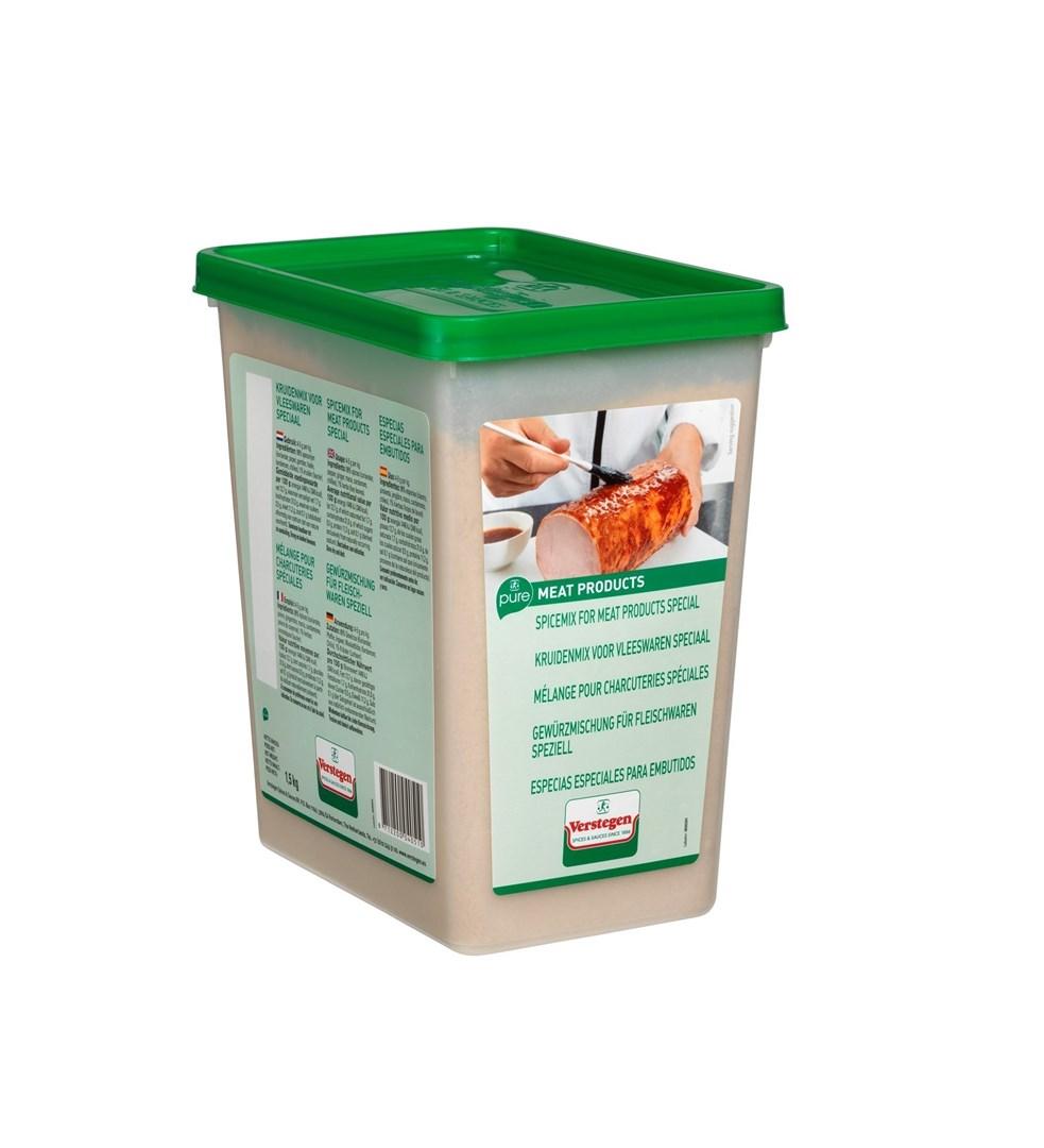Productafbeelding Verstegen Pure kruidenmix voor vleeswaren speciaal 1500 g kuipje