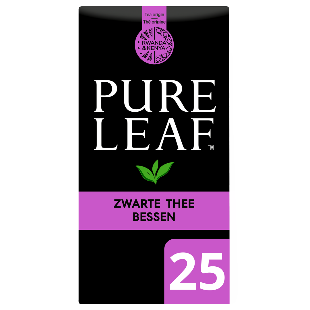 Productafbeelding Pure Leaf Zw Thee Bes NL-BIO-01 25st 6x