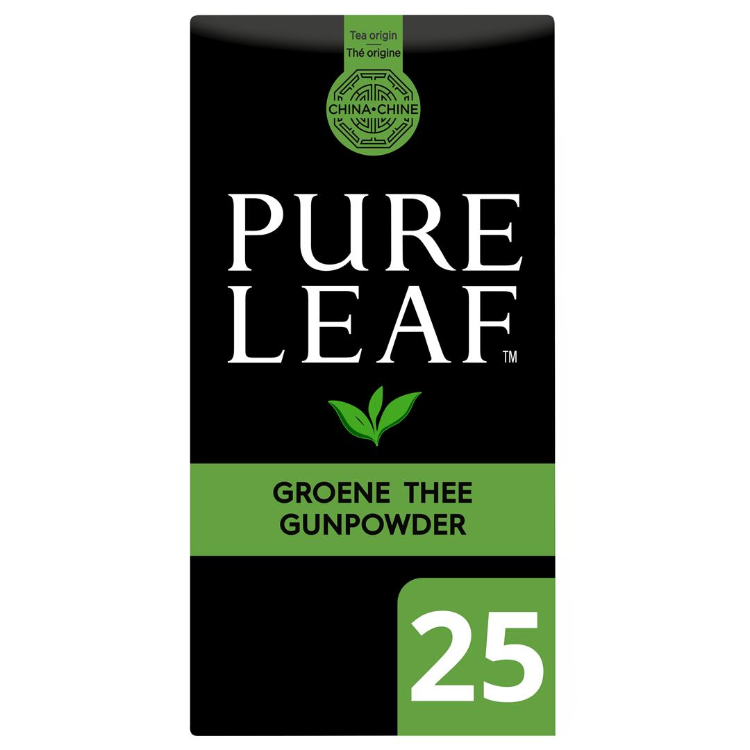 Productafbeelding Pure Leaf Gr Thee Gunp NL-BIO-01 25st 6x