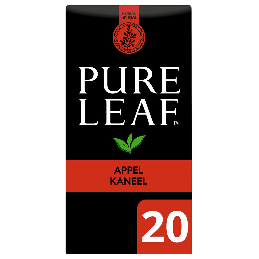 Productafbeelding Pure Leaf Appel Kaneel NL-BIO-01 20st 6x
