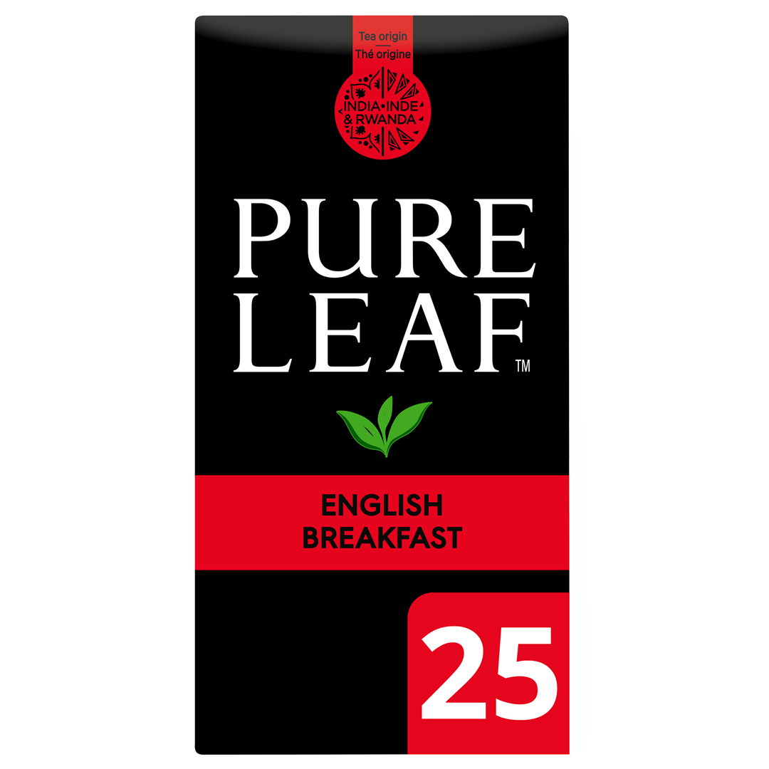 Productafbeelding Pure Leaf Eng Breakfast NL-BIO-01 25s 6x