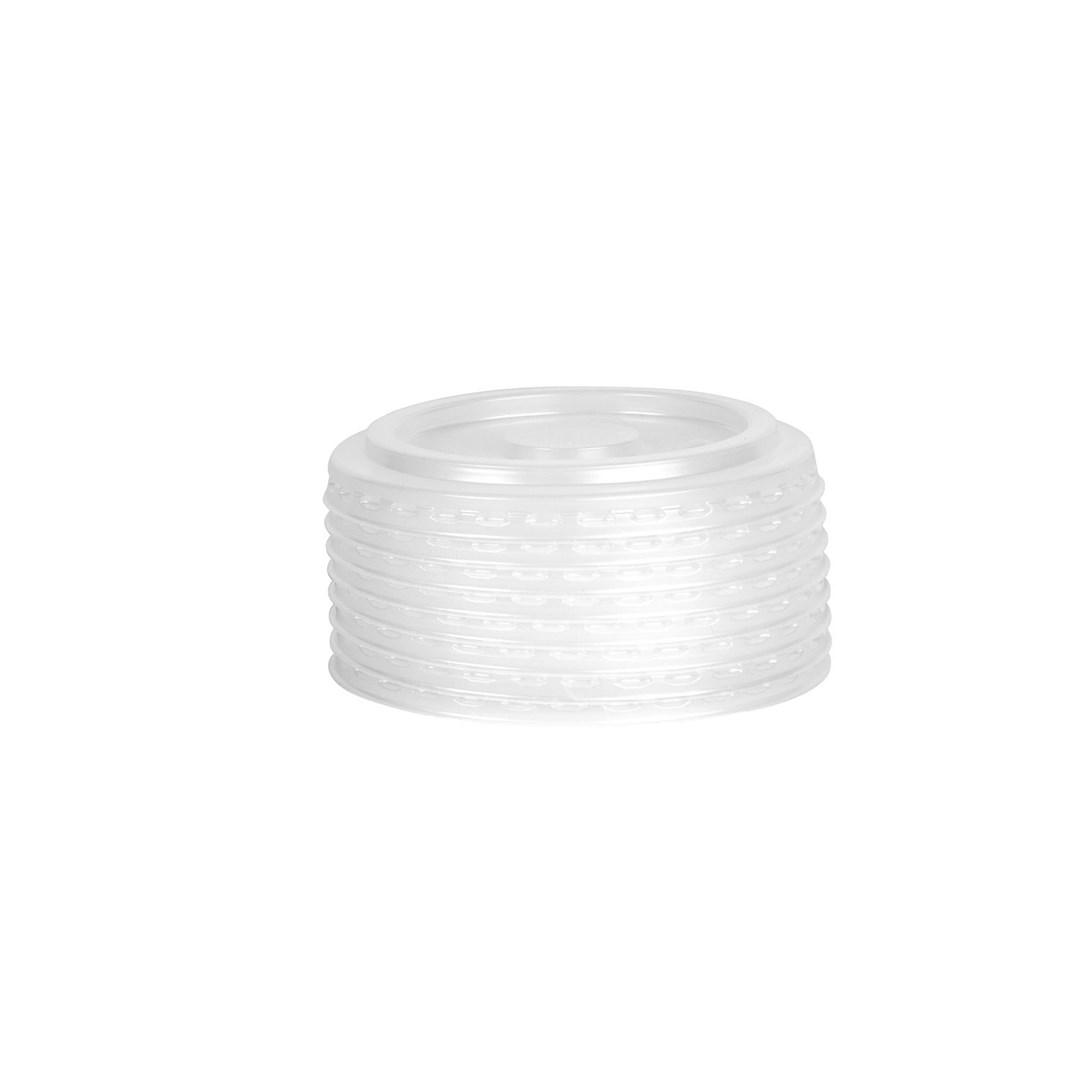 Productafbeelding Combi-Deksel composteerbaar PLA tbv 300/400/500ml Shake-/IJsbeker