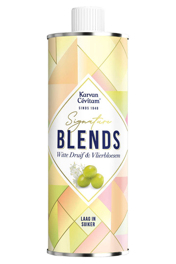 Productafbeelding Karvan Cévitam Vruchtenlimonadesiroop Witte Druif & Vlierbloesem 500 ml Blik