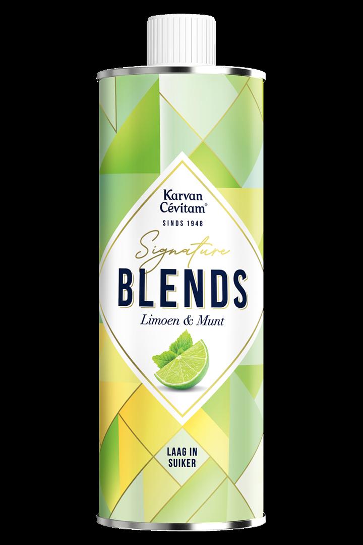 Productafbeelding Karvan Cévitam Vruchtenlimonadesiroop Limoen & Munt 500 ml Blik