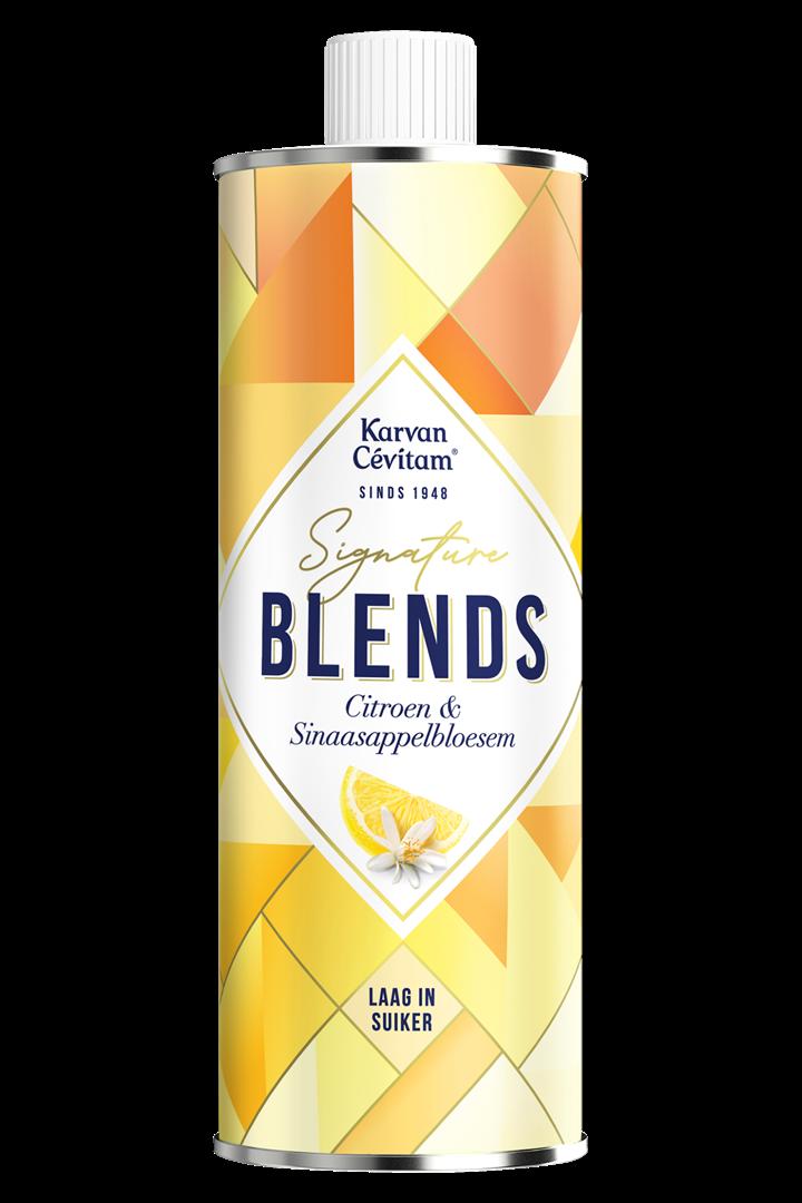 Productafbeelding Karvan Cévitam Vruchtenlimonadesiroop Citroen & Sinaasappelbloesem 500 ml Blik