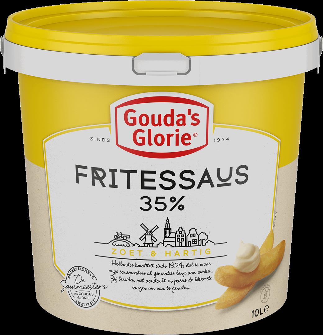 Productafbeelding Gouda's Glorie Fritessaus geel 35%   Emmer 10 L