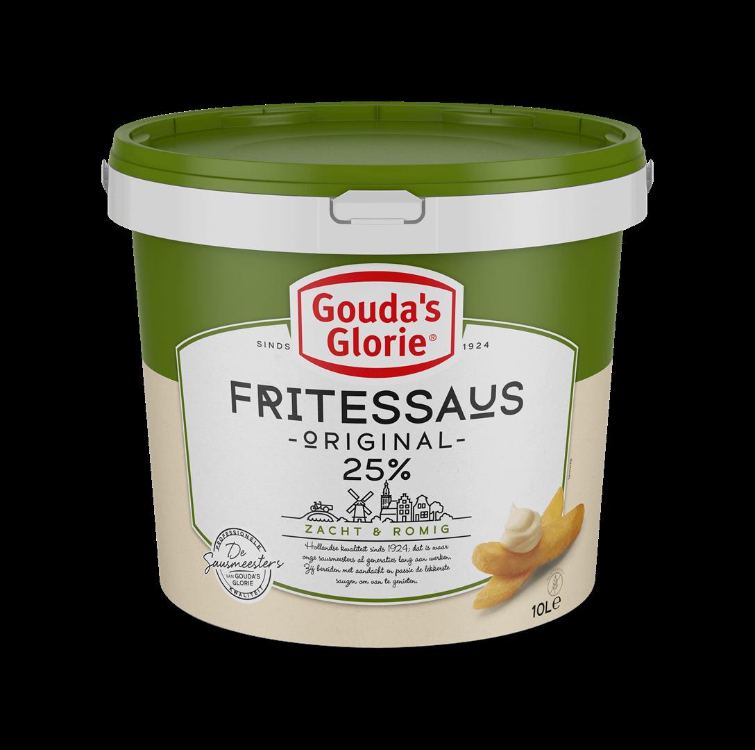 Productafbeelding Gouda's Glorie Fritessaus original 25%   Emmer 10 L