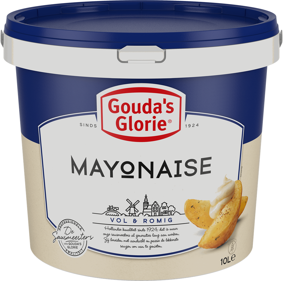 Productafbeelding Gouda's Glorie Mayonaise 70%   Emmer 10 L