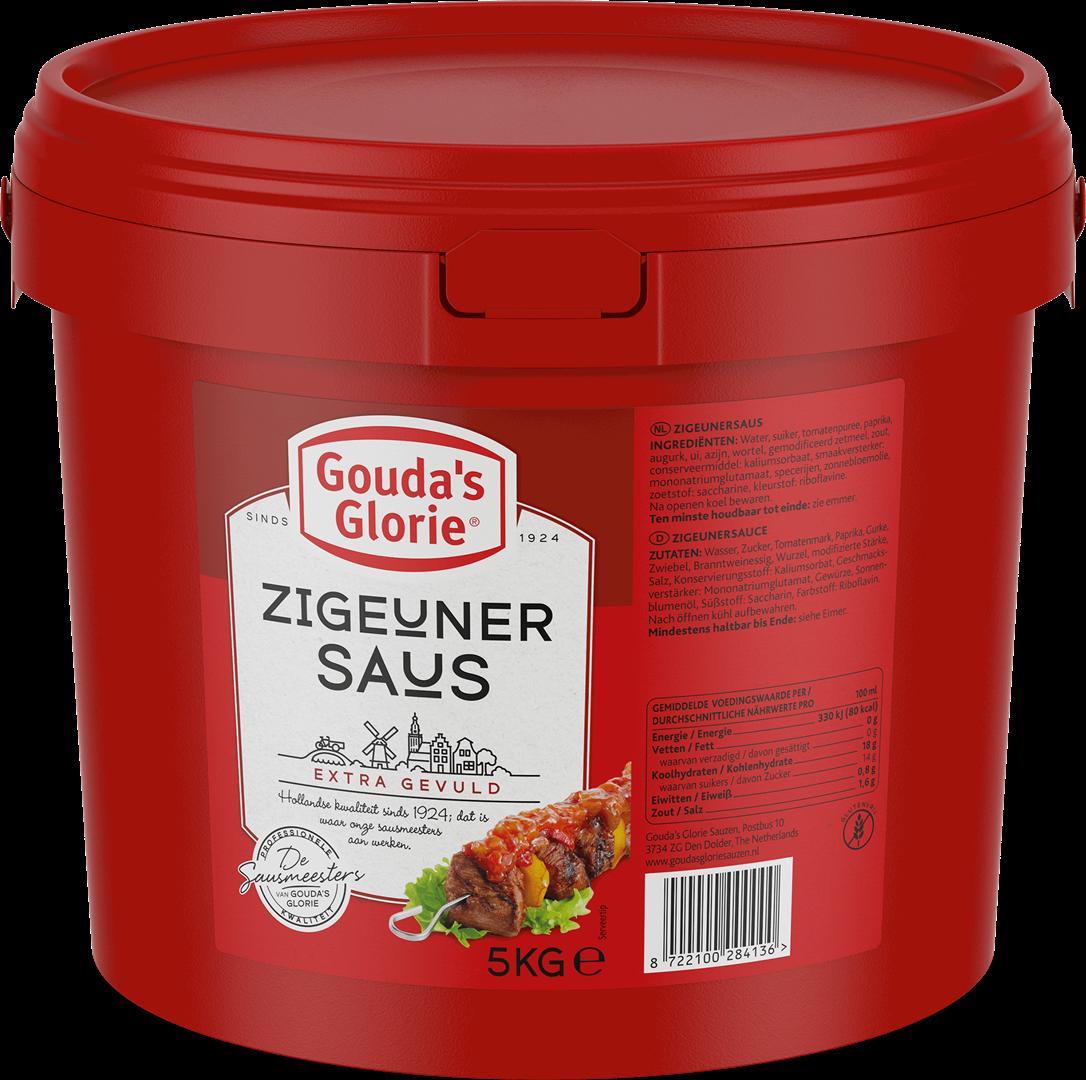 Productafbeelding Gouda's Glorie Zigeunersaus   Emmer 5 KG