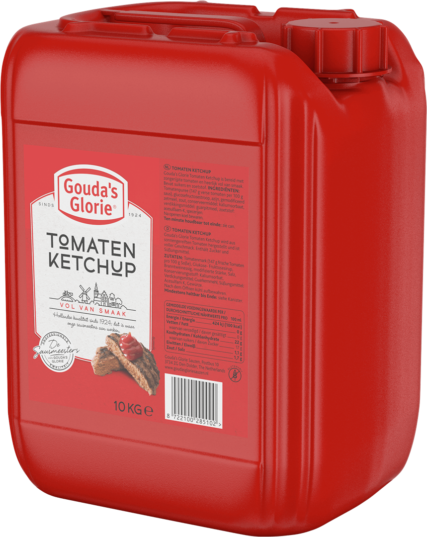 Productafbeelding Gouda's Glorie Tomaten Ketchup   Can 10 KG