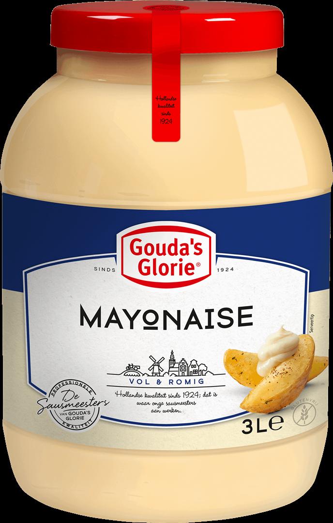 Productafbeelding Gouda's Glorie Mayonaise 70%   Bokaal 3 L