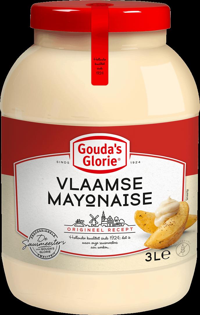 Productafbeelding Gouda's Glorie Vlaamse Mayonaise | Bokaal 3 L