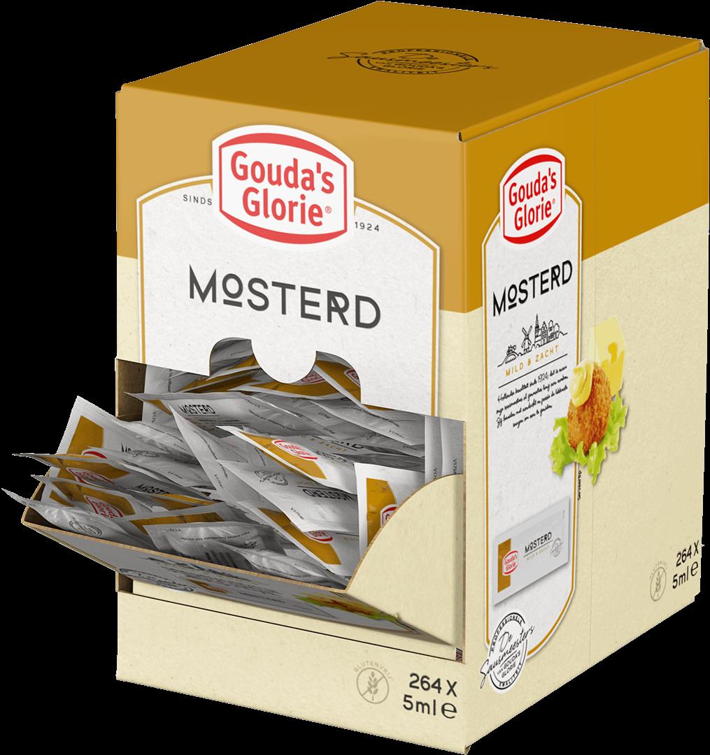 Productafbeelding Gouda's Glorie Mosterd  Sachet 264 x 5 GR