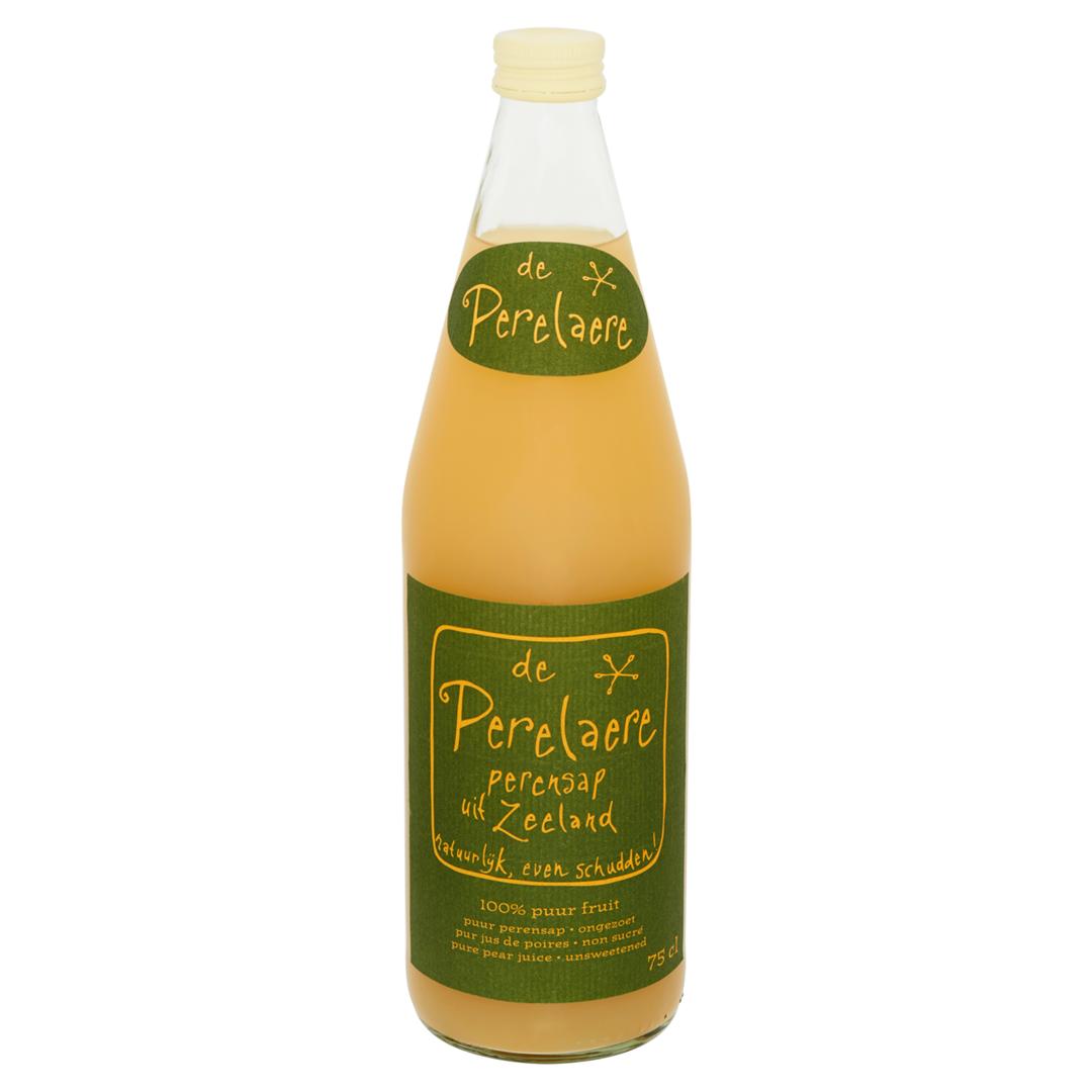 Productafbeelding Fles Perelaere 0.75 liter, vers geperst perensap (Appelaere)