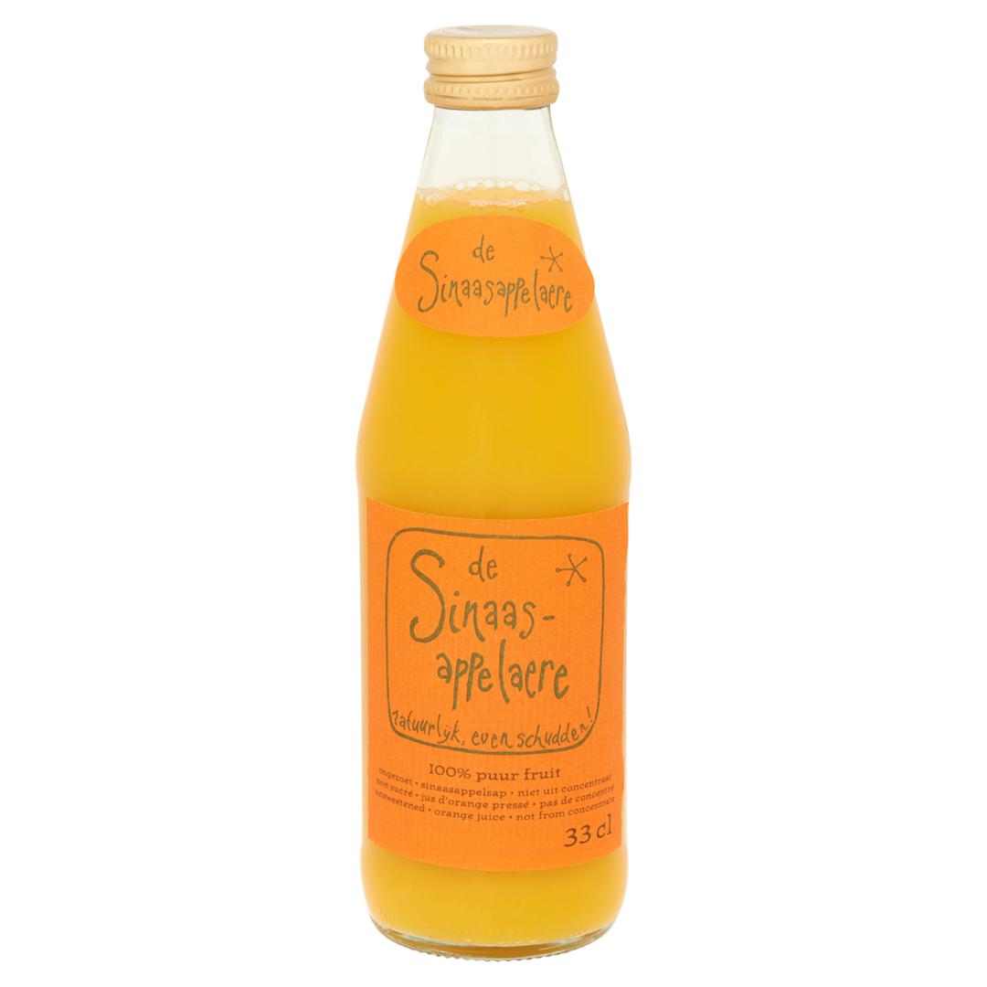 Productafbeelding Fles Sinaasappelaere 0.33 liter, vers geperst sinaasappelsap