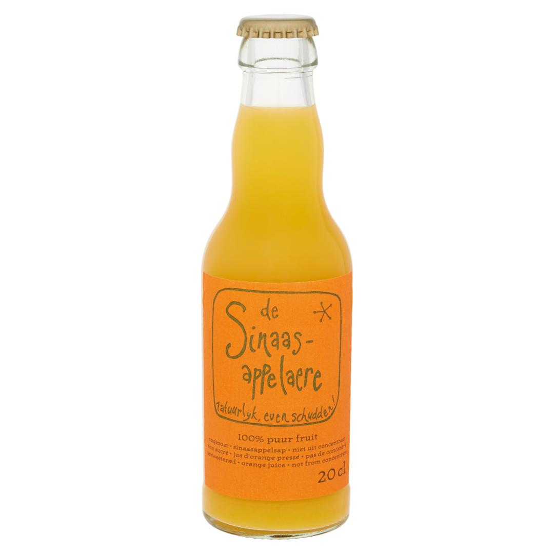 Productafbeelding Fles Sinaasappelaere 0.2 liter, vers geperst sinaasappelsap