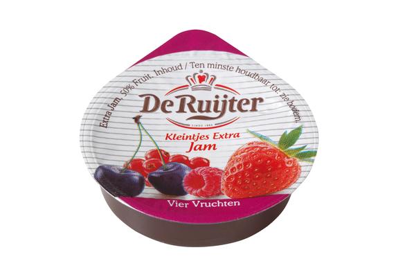 Productafbeelding De Ruijter Vier Vruchtenspread 50%