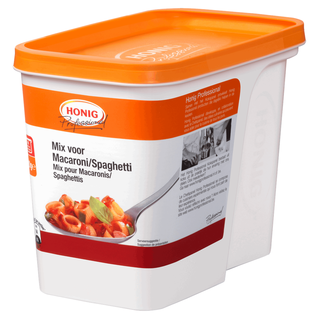 Productafbeelding Honig Professional Mix voor Macaroni/Spaghetti 720 g Beker/kuipje