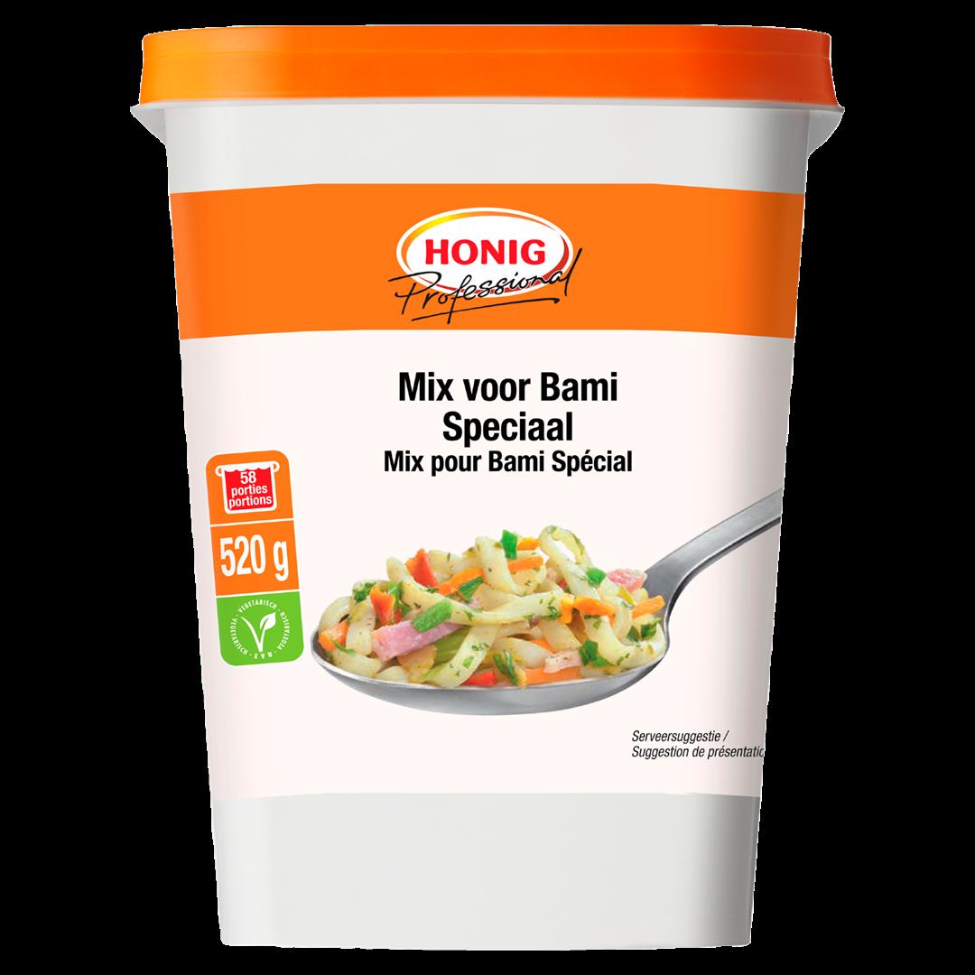 Productafbeelding Honig Professional Mix voor Bami Speciaal 520 g Beker/kuipje