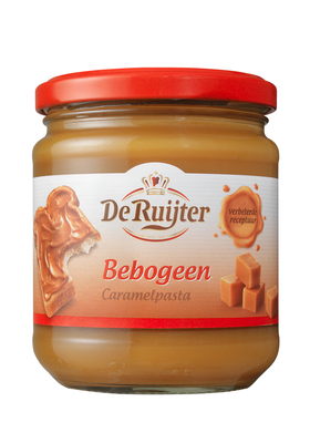 Productafbeelding De Ruijter Karamelpasta Bebogeen 360 g Pot