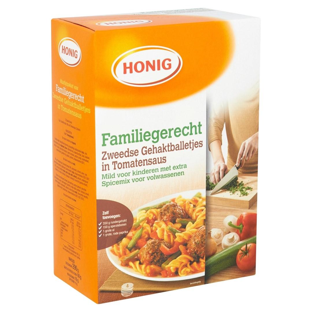 Productafbeelding Honig Maaltijdpakket Zweedse Gehaktballetjes in Tomatensaus 1 st. Doos