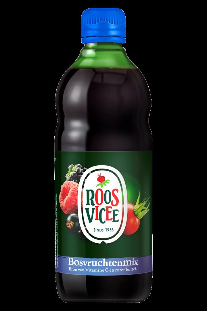 Productafbeelding Roosvicee Vruchtensiroop Bosvruchtenmix 0.5 l Fles