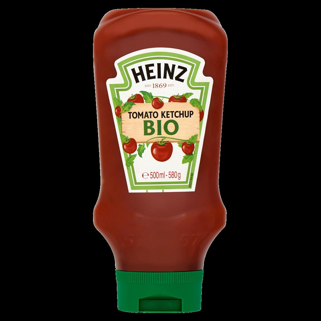 Productafbeelding Heinz Tomato Ketchup Bio 580 g Fles